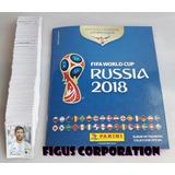 Album Completo Figuritas Mundial Rusia 2018 Panini + Extras