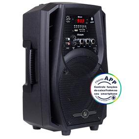Caixa De Som Amplificadora 60w Bluetooth 127v Cl200 App 12v