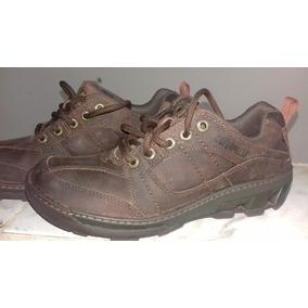 Zapatos Casuales Marca Caterpilla Talla 40 Suela Dañada