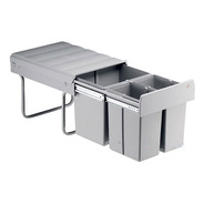 Cubo Cesto Residuos Cod, Hafele 502.67.750 Triple 1x16/2x8 L