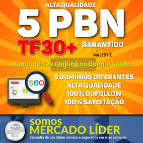 Backlinks Pbn Exclusiva Seo Tf30+ Alta Autoridade Dofollow