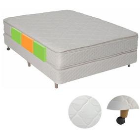 Colchon + Sommier Topacio Simetric Pillow 140x190x30 Regalos