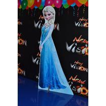 Frozen, Anna, Elsa, Olaf, Display De Chão, Tottem 60cm!!!