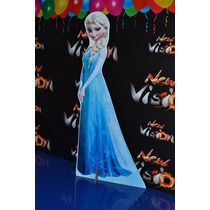 Frozen, Anna, Elsa, Olaf, Display De Chão, Tottem Lindos.