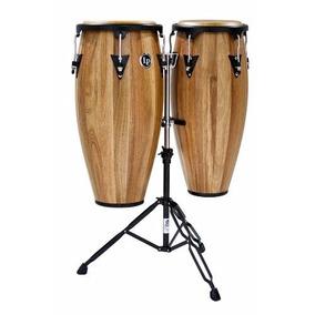 Set Congas Latin Percussion Lp Aspire Jamjuree Madera