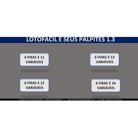 Lotofácil (4 Em 1) Planilha Para Jogos V1.3