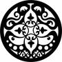 Mandala Miniatura Em Mdf 10 Cm