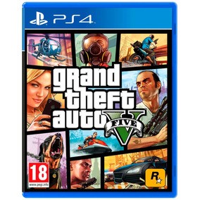 Juego Gta 5 Ps4 Gtav Fisico Grand Theft Auto V Alclick