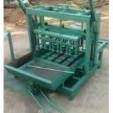 Planos Para Fabricar Máquina Ponedora De Bloques+350 Libros