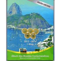 Álbum Para Colecionar Moedas De 1 Real Olimpíadas Rio 2016