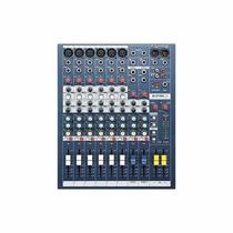 Soundcraft - 6-mezclador De Canales - Negro