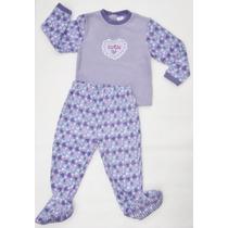Pijama Nena Polar Grueso Importado Baby Havest Invierno