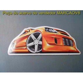 Adesivo Com O Desenho De Um Carro Bud Rebaixado Tunado