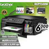 Impresora Brother Multifuncional Dcp-t500w