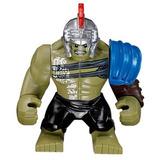 Hulk Gladiador Filme Thor Ragnarok - Lego Compatível