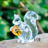 Enfeite De Cristal -objeto Decoração
