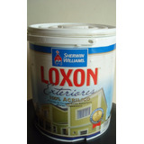 Pintura Loxon Exterior Color Marrón Chocolate Colonial