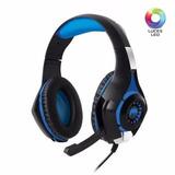 Audifonos Gamer Led Therodactil - Mic Hg800v