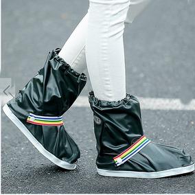 Botas Impermeables Protegen Zapatos Contra La Lluvia