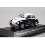 Miniatura - Volkswagen Fusca - Policia Civil - 1:43 - Ixo