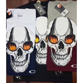 Garfo Oakley Caveira - Camisetas e Blusas no Mercado Livre Brasil a9f5327974a