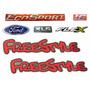 Emblema Ecosport Freestyle Xls 1.6 Flex + Ford - Até 2012