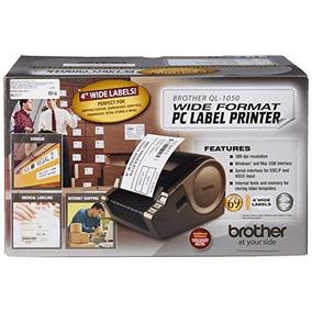 Impresora De Etiquetas Para Pc De Gran Formato Brother Ql