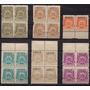 Argentina, Sellos Fiscales Cordoba, 1908, Lindo Lote!