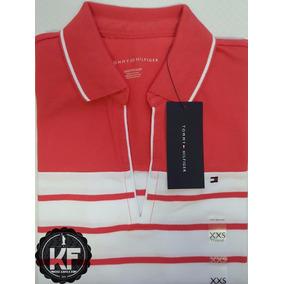 Camisa Polo Decote Tommy Hilfiger Original - Feminina