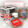 Kit Cilindro Motor P/ Moto Honda Fan150 Pistao 3mm 165cc