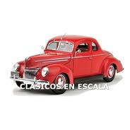 Ford Deluxe 1939 Coupe - Iconico Clasico - R S Maisto 1/18