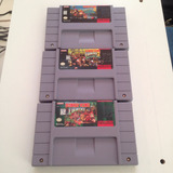 Trilogia Donkey Kong Country 1 2 3 - Super Nintendo - Snes