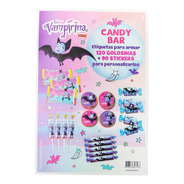 Candy Bar Vampirina 120 Golosin 90 Sticker - Ciudad Cotillón