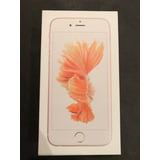 Caja Vacia Iphone 6s 16gb Gold Rose
