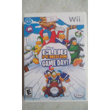 Nintendo Wii Disney Club Penguin - Game Day! Americano