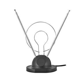 Antena Dupla Com Base Vhf/uhf/fm Interna Htuv201 Preta Hyx