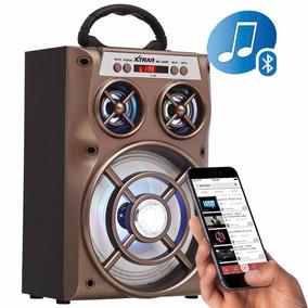 Caixa Som Amplificada Portátil Bluetooth Mp3 Usb Sd Fm 500w