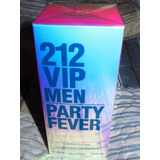 Perfume 212 Vip Men Party Fever Original Nuevo