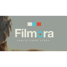 Filmora 8.3 Editor De Videos Full Software Digital