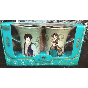 Disney Store Envio Gratis Tazas Aladin Y Jazmin