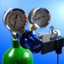 Azoo Regulador Del Acuario Co2 A Presión Con La Válvula Mag