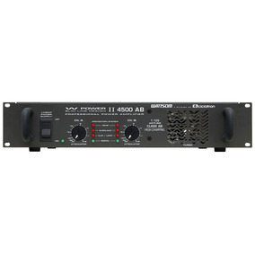 Amp 2ch 1125w Rms (total) W Powerii 4500 Ab Ciclotron