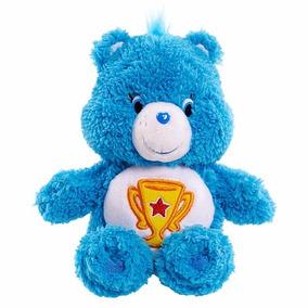 Pelúcia Ursinhos Carinhosos Azul Campeão 20cms