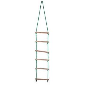 escalera de cuerda pasos fuertes robusto