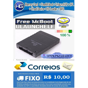 Memory Card Ps2 Com Opl 1330 + Freemcboot + Ulaunchelf