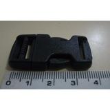 Fecho Engate Rápido Plástico Bolsas Mochilas 15mm (100pçs)