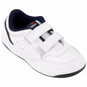 Zapatillas Topper X Force Kids Con Abrojos Niños Tennis