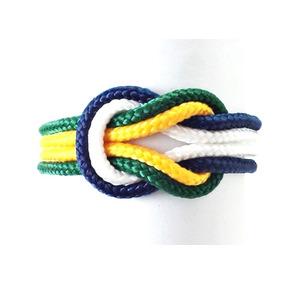 Pulseira Bracelete Brasil Infinito Copa Do Mundo 2018