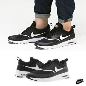 Tenis Nike Air Max Thea Negro Talla De La 2.5 A La 5.5 Origi