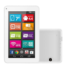 Tablet M7-s Tela 7 Wifi Android 4.4 2mp 8g Multilaser